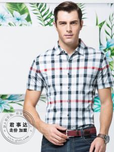 欧森朗新款格子衬衫