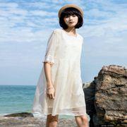 布卡拉女装新品 夏季的连衣裙搭配方法