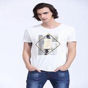 希特男装新品 一件T恤就能过完整个夏天