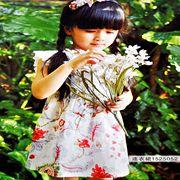 的纯童装新品穿搭 塑造最美的花仙子