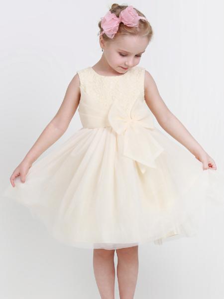 杰米兰帝17夏新款女童唯美连衣裙