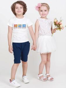 杰米兰帝童装17夏时尚新款