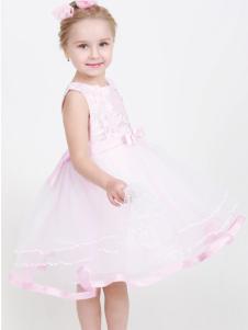 杰米兰帝17夏新款女童公主裙