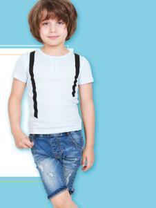 杰米兰帝17夏新款男童T恤