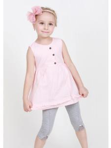 杰米兰帝17夏新款女童套装