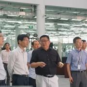 闵行区政协副主席王一力一行领导莅临长园和鹰参观调研