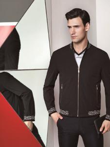 啄木鸟新款黑色外套