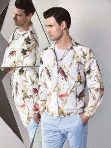 啄木鸟新款印花外套