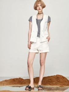 丽芮17时尚新款知性简约套装