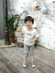 兔子杰罗夏季新款白色T恤