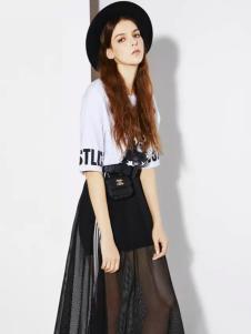 芝麻E柜2017新款网纱半裙
