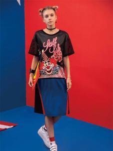 芝麻E柜2017新款短袖T恤