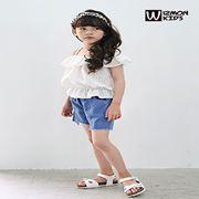 蓝角兽童装新品 夏季小女孩的最美穿搭