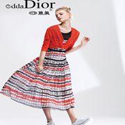 迪奥高端时尚女装新品 连衣裙搭配,这样穿绝对美