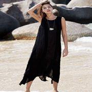 唯简尚棉麻女装新品 时尚连衣裙,美丽搭配不犯错