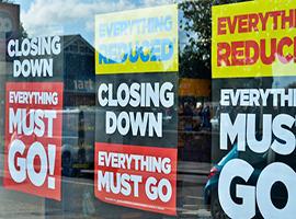 美国零售业的破产案例持续增加 今年已有300余家