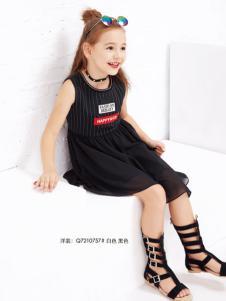 快乐丘比童装连衣裙
