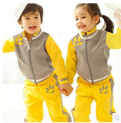 套头衫连帽春秋园服 运动幼儿园园服 园服定做|书包定做