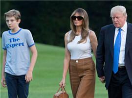 特朗普儿子搬进白宫时所穿T恤意外成爆款