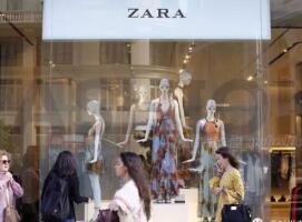 依然强大 Zara母公司Inditex SA一季度净销售55.69亿欧