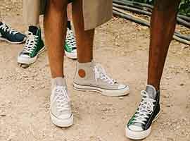 Converse和J.W Anderson做运动鞋了 算是对Vans的回击