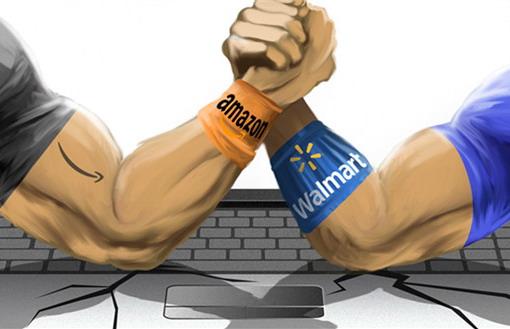 亚马逊VS沃尔玛,零售业未来将是电商与实体零售的合体