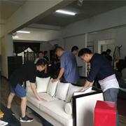 吴江青商会到访新申亚麻村 参观交流共同进步