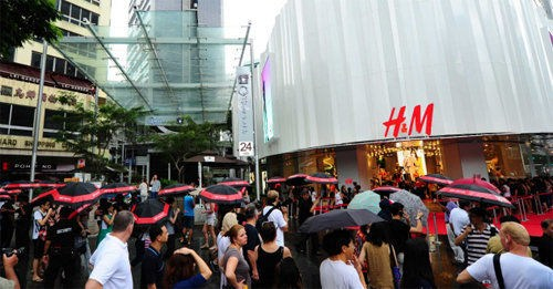 H&M二季度含税销售额增长5% 中国大陆地区新开6家门店