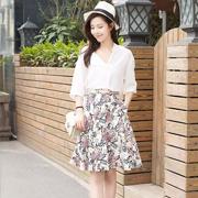 天使韩城 | 碎花裙这么穿,才是夏日潮流风向标!
