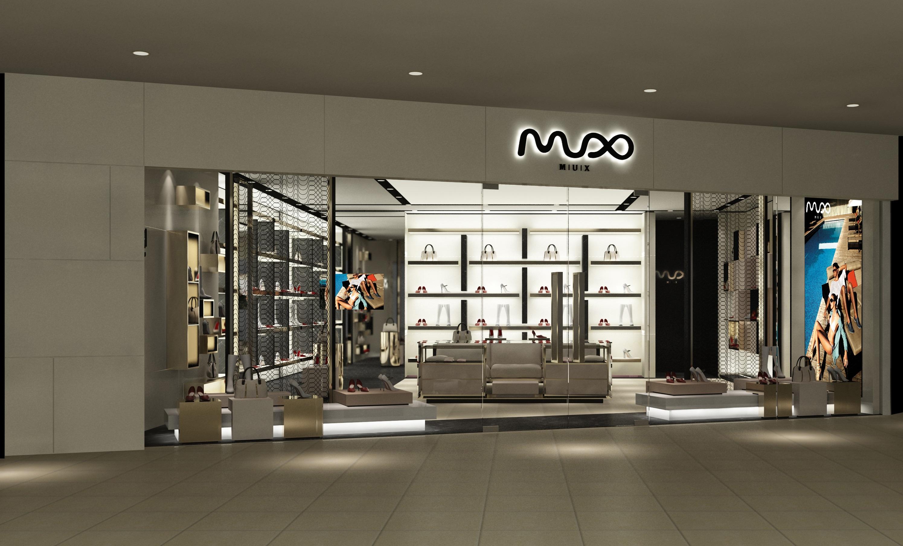 鞋业_mux鞋业专卖店形象图