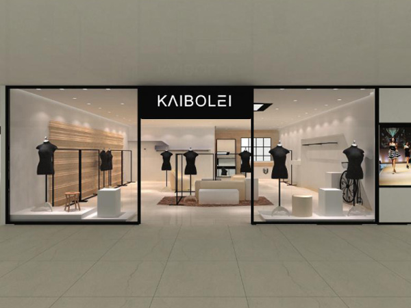 KAIBOLEI女装店平面图