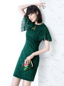 ECA2017优雅唯美蕾丝裙