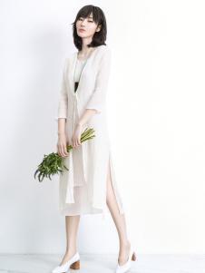 ECA2017时尚棉麻连衣裙