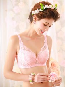 奥丽侬平装新款粉色文胸
