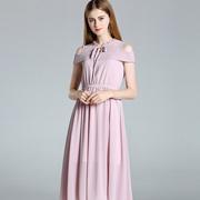 卡尔诺无袖气质仙女连衣裙 演绎着女性的优雅气质