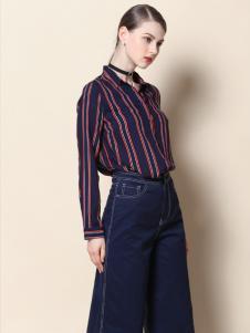 戴莉格琳条纹衬衫