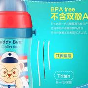 一个颜值逆天的泰迪儿童水杯,解决了世界妈妈们的难题!