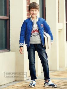 杰米熊男童装17新款外套