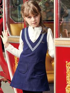 杰米熊童装17时尚两件套
