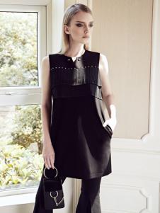 ANOTHER ONE女装17优雅小黑裙