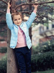 杰米熊女童装17新款外套