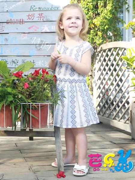 芭乐兔童装17新款连衣裙