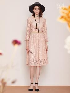佧茜文女装17新款蕾丝裙