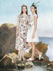 艺域女装17文艺连衣裙