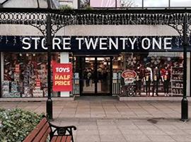 英国时尚零售商Store Twenty One走上破产道路