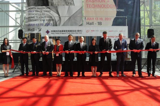 第十八届中国纺织品服装贸易展览会(纽约)开幕