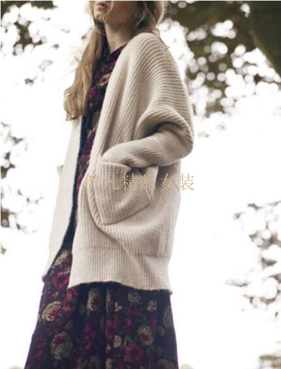 甜美女装针织衫尾货批发|女装批发