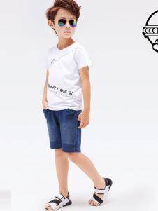 2017快乐丘比男童T恤