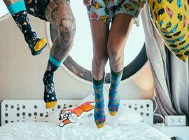 这个充满趣味的瑞典袜子品牌 去年卖袜子卖了一亿欧