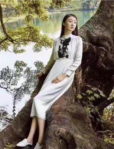 BELLO ANN2017高腰连衣裙